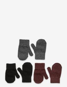 Magic Mittens 3 Pack - moufles - andorra/antrazite/black pack