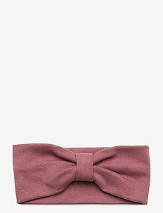 Cotton Double Layer Earband - accessoires pour cheveux - rose brown