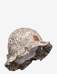 Summer Bucket Hat  Bow - Aop - solhat - dune