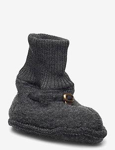 Wool Footies - hausschuhe - anthracite melange