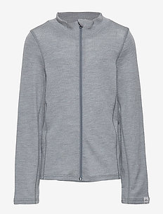 WOOL Cardigan - PEARL GREY MELANGE