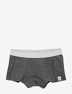 WOOL Shorts Girls - LANCASTER GREY MEL