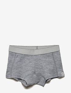 WOOL Shorts Girls - PEARL GREY MELANGE