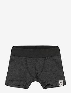 Wool Boys Shorts - underdele - anthracite melange