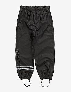 PU basic trousers - regenkleidung - black 190