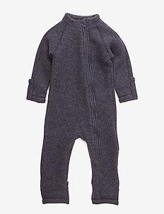 Wool suit - MELANGE GREY
