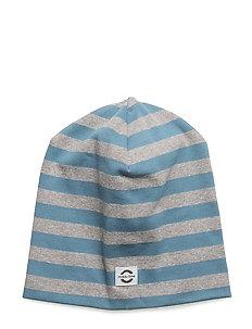 Striped hat cotton - 268 AEGEAN BLUE