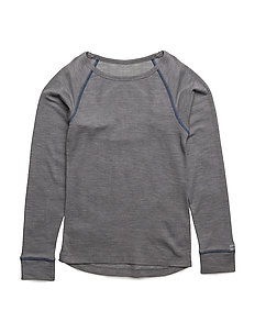 WOOL LS top - 221/LIGHTTURQUOISE