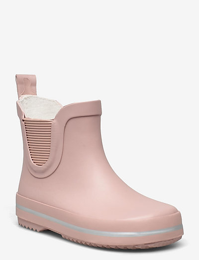 Short Wellies - uforede gummistøvler - adobe rose