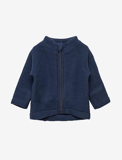 Wool Baby Jacket - uldtøj - 287/bluenights