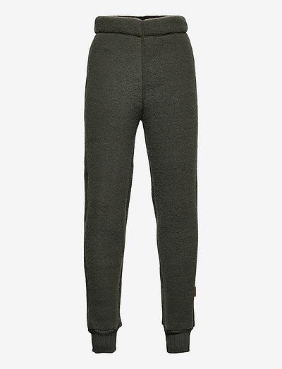WOOL Pants - uldtøj - tarmac
