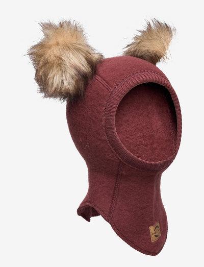 Wool Fullface w. Pom Pom - balaclava - andorra