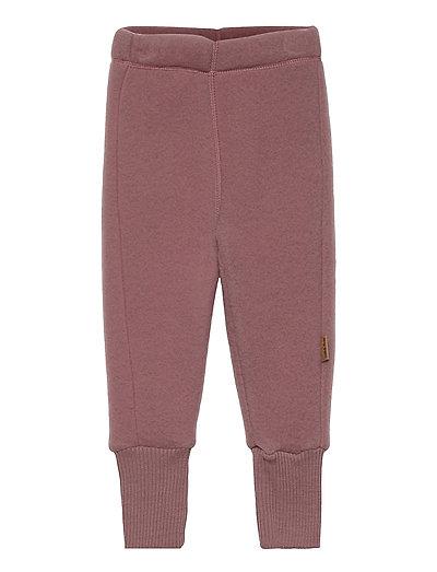 WOOL Pants - uldtøj - burlwood