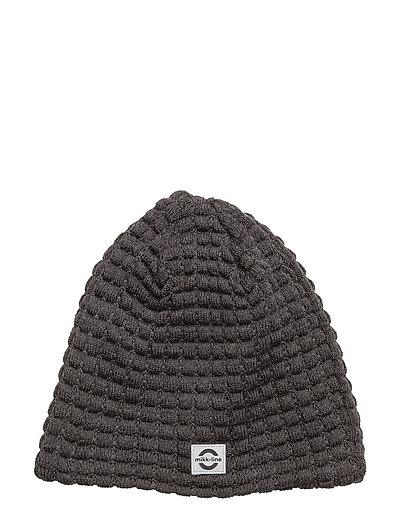 WOOL hat - Square - 180/DARKGREYMELANGE
