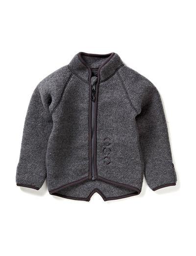Mikk-Line Fleece jacket baby wool