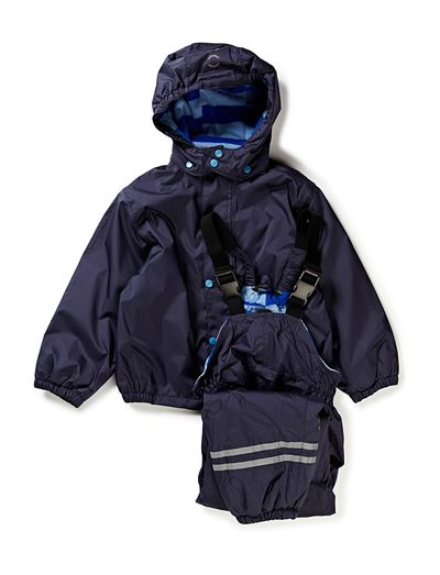 Mikk-Line PE Rainwear with fleece lining