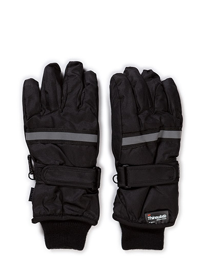 THINSULATE gloves - BLACK