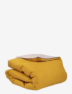 Duetto Duvet Cover - dekbedovertrekken - yellow/light pink