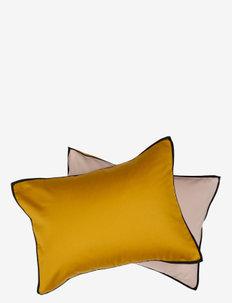 Duetto Pillowcase - kussenslopen - yellow/light pink