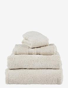 Fontana Towel Organic - handdoeken en badhanddoeken - ivory