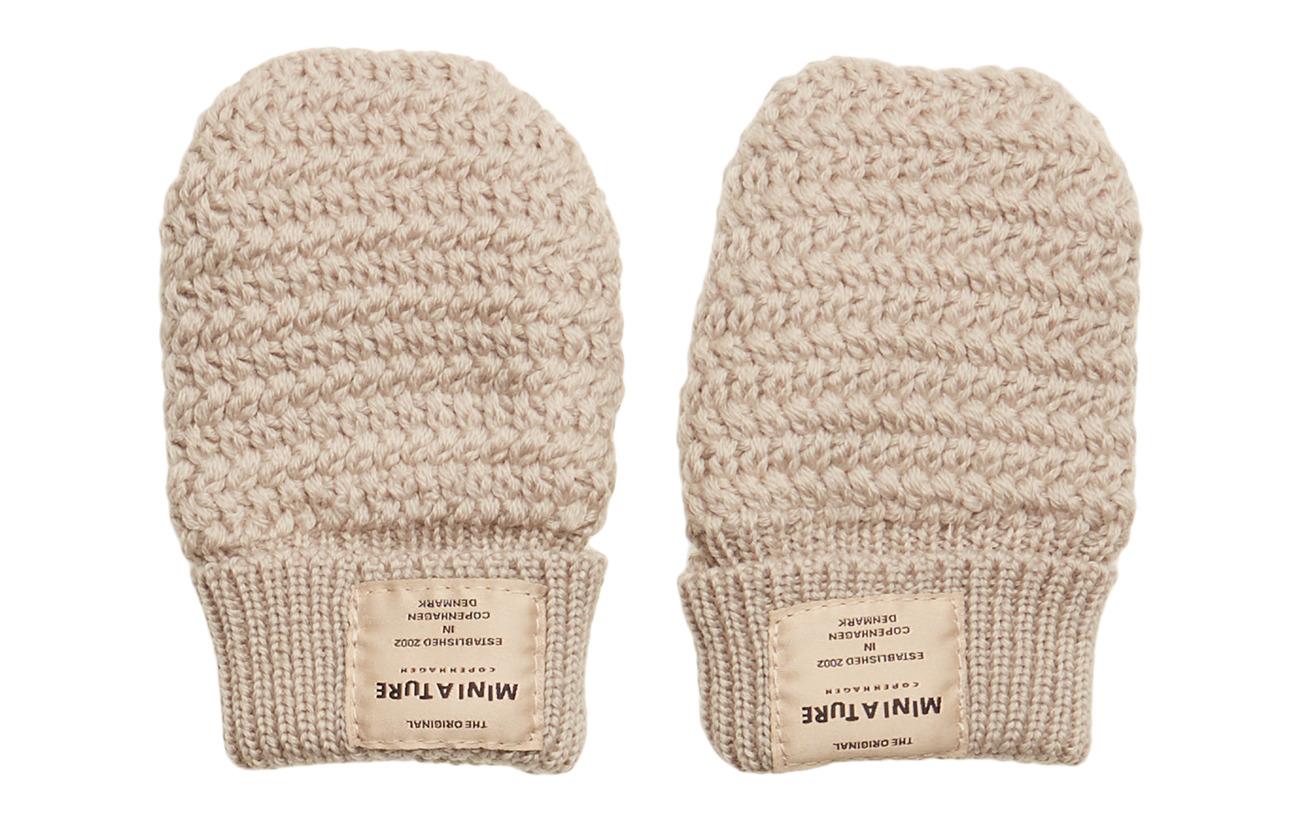 Mini A Ture Celie Glove, BM - MILD GREY