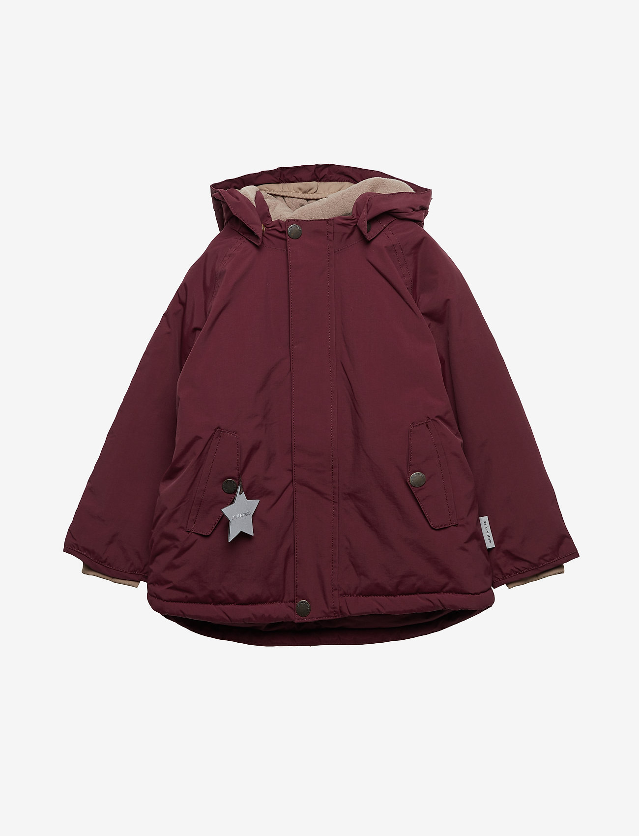 Mini A Ture - Wally Jacket, M - parkas - winetasting plum - 0
