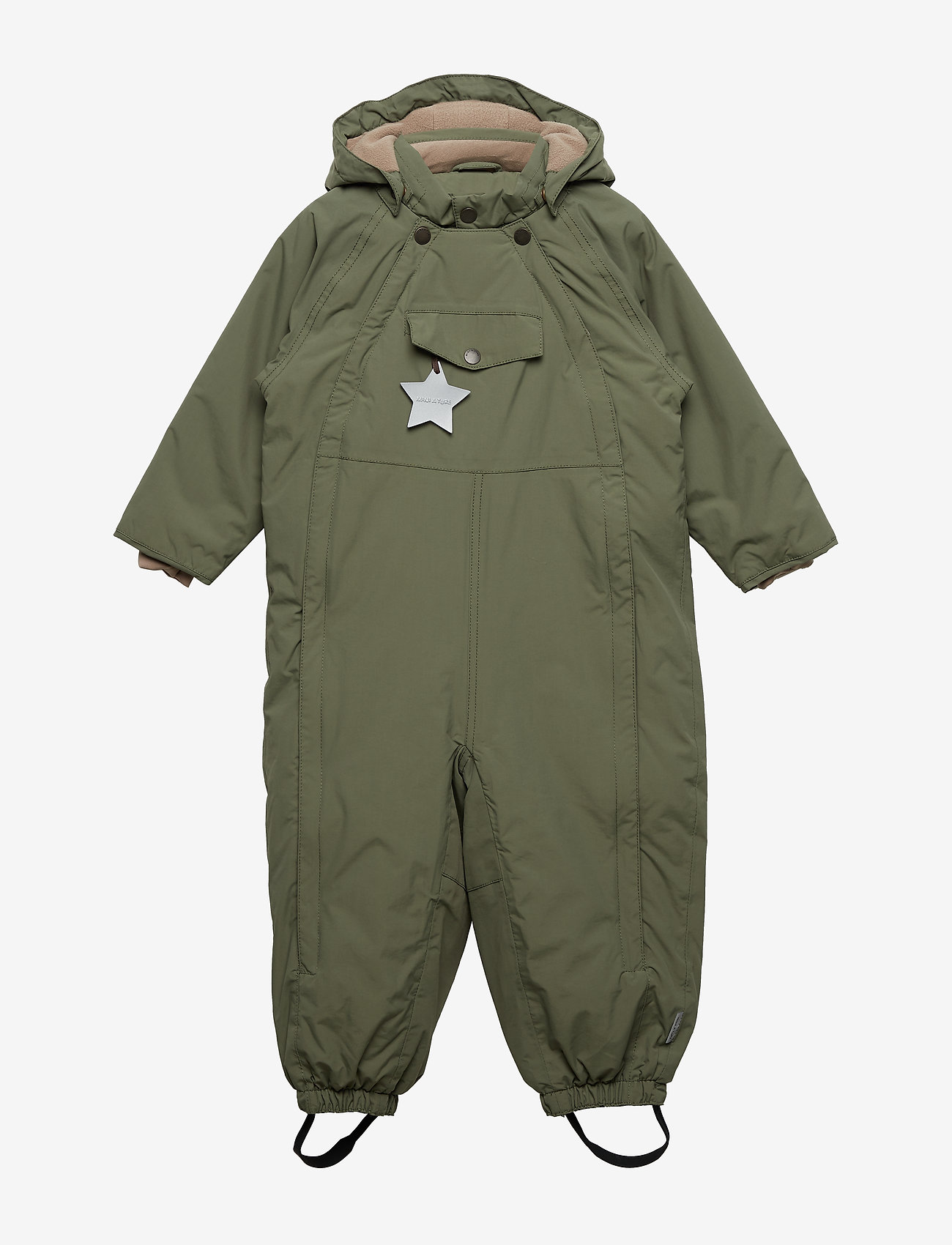 Mini A Ture - Wisti Snowsuit, M - vinterdress - beetle - 0