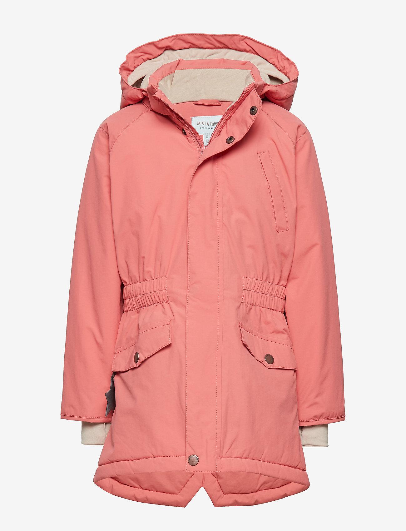 Mini A Ture - Vibse Jacket, K - parkas - faded rose - 0