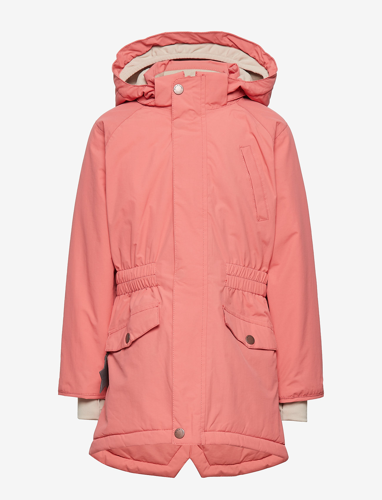 Mini A Ture - Vibse Jacket, K - parkas - faded rose - 1
