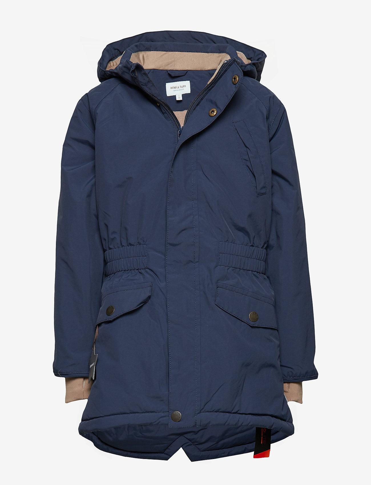 Mini A Ture - Vibse Jacket, K - parkas - peacoat blue - 0
