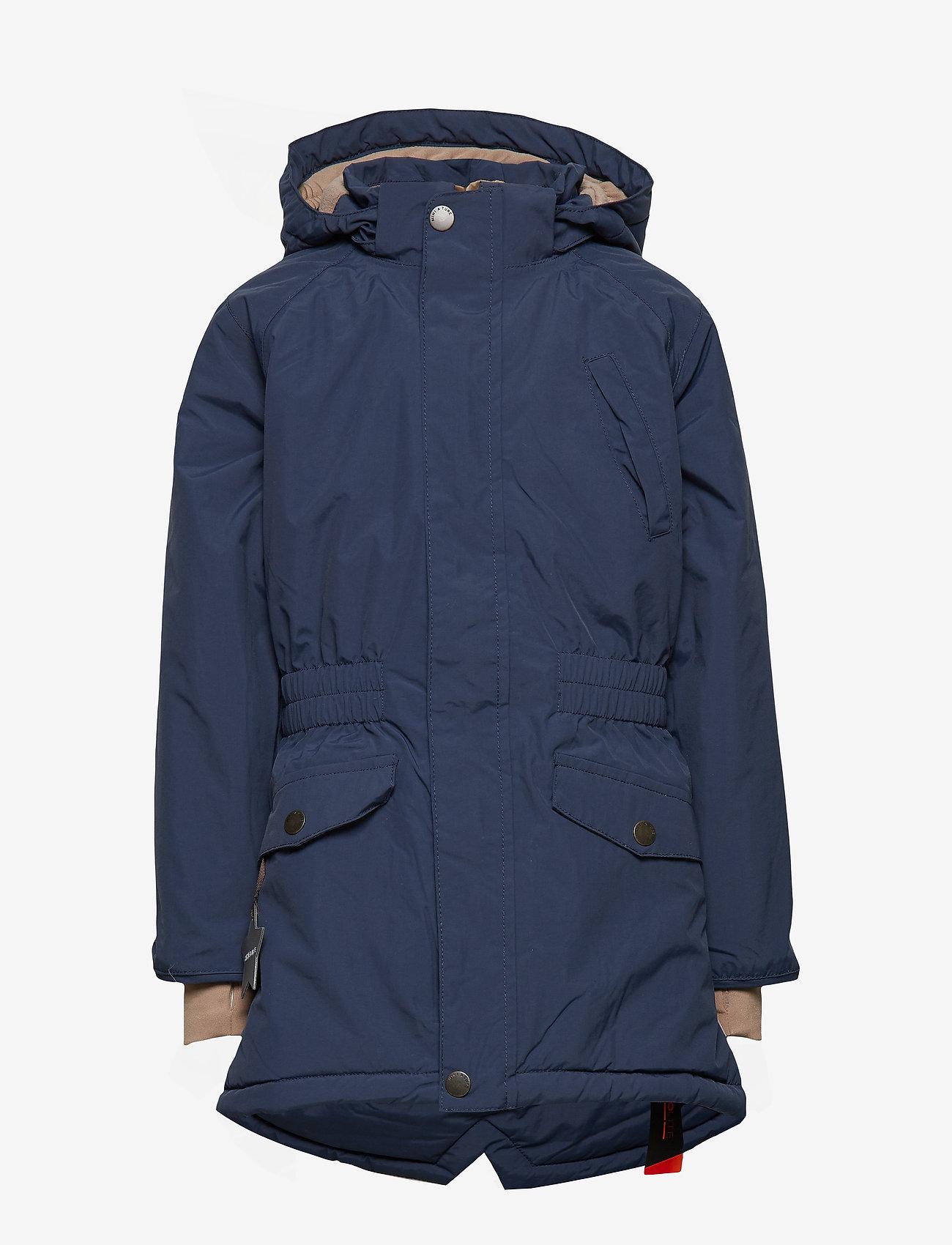 Mini A Ture - Vibse Jacket, K - parkas - peacoat blue - 1