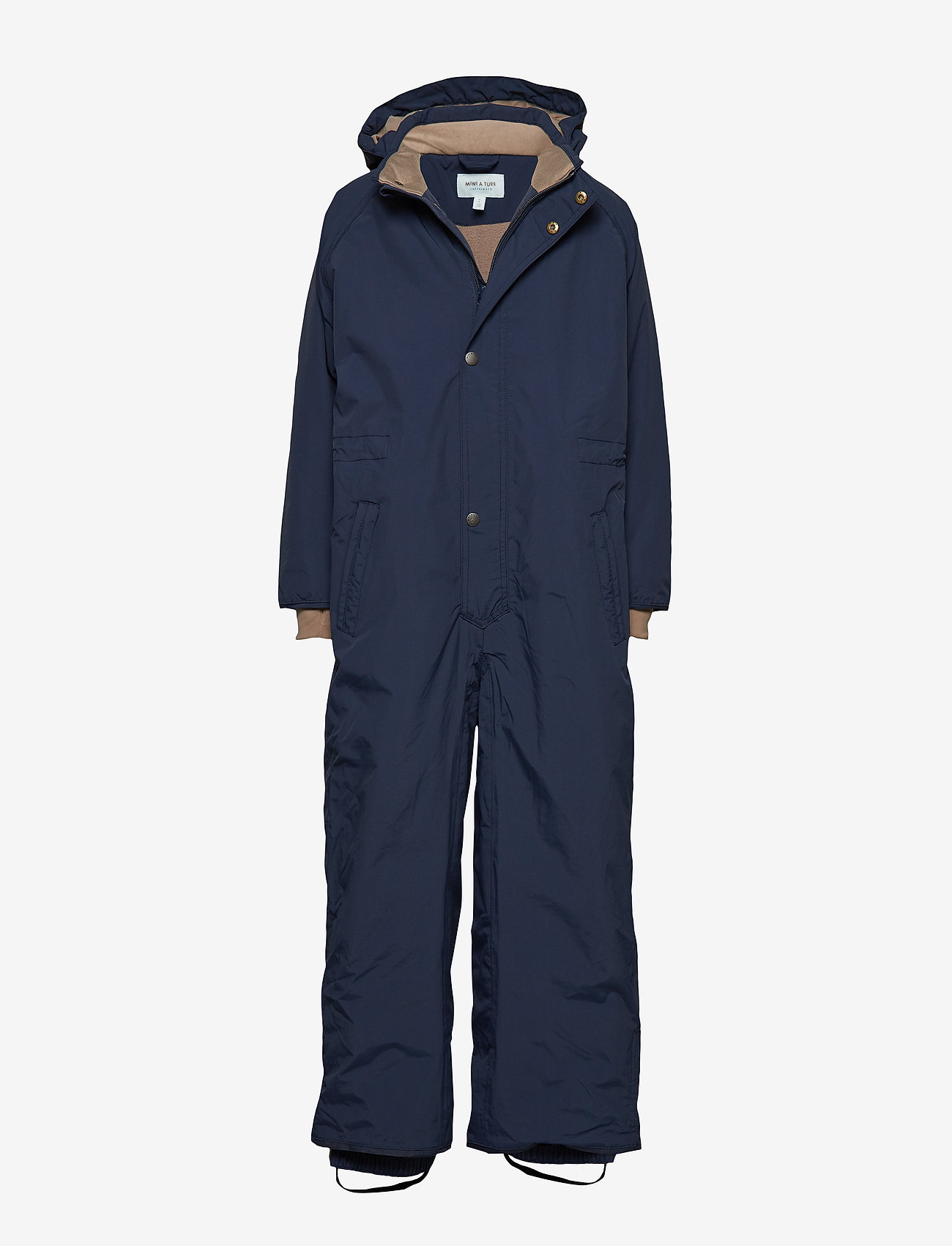 Mini A Ture - Wanni Snowsuit, K - snowsuit - peacoat blue - 0