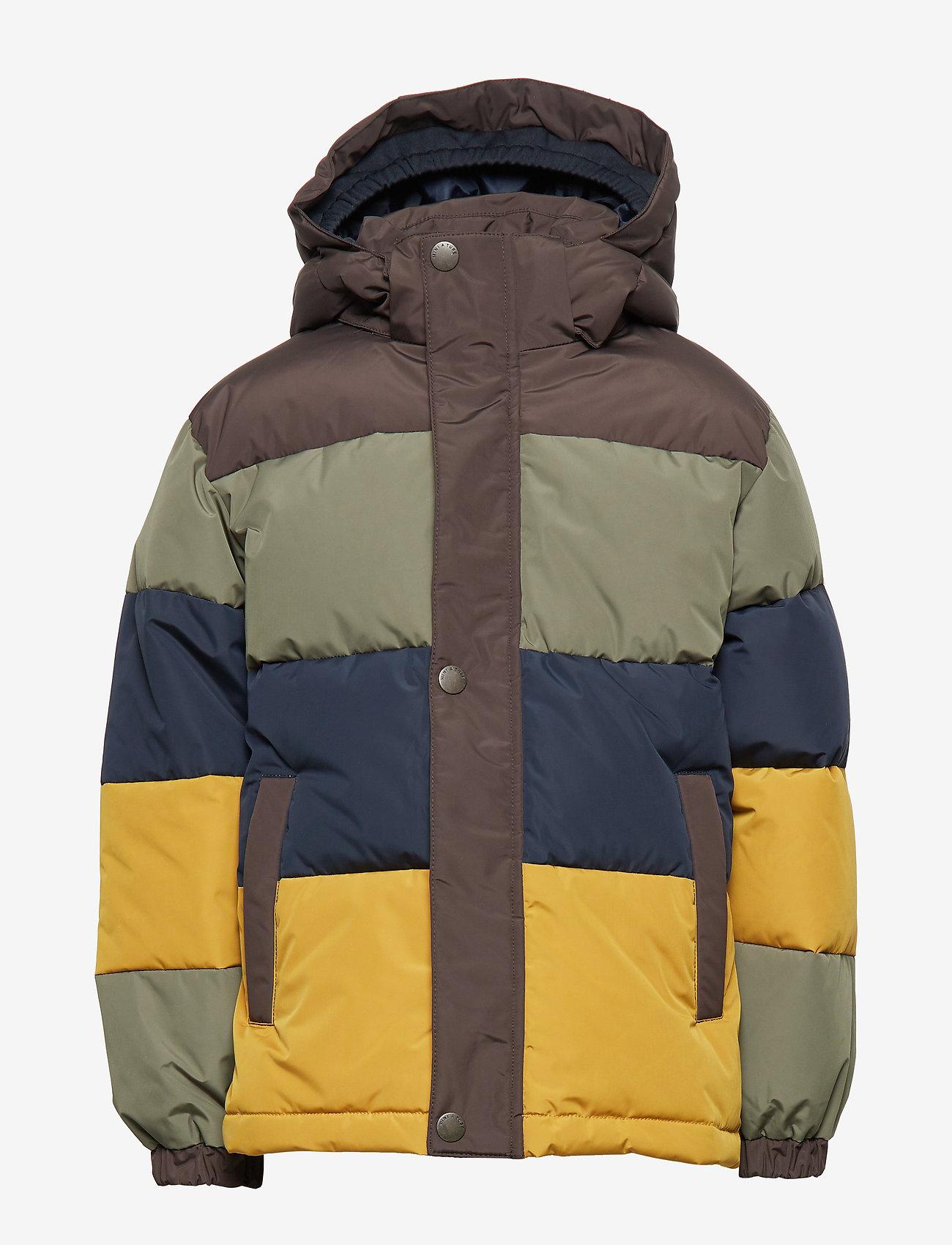 Mini A Ture - Wernon Jacket, K - daunen- und steppjacken - beetle - 1
