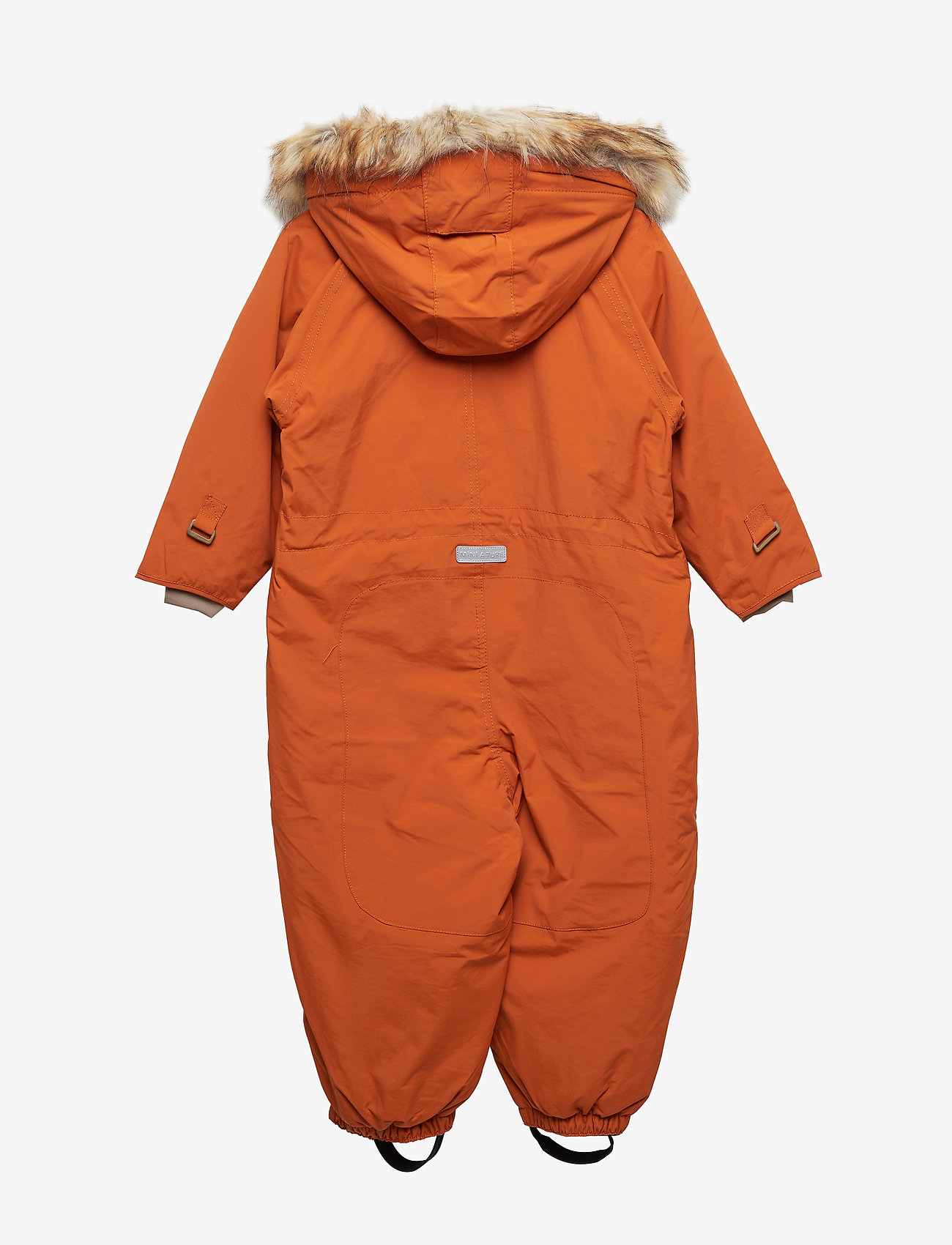 Mini A Ture - Wisti Faux Fur Snowsuit, M - vinterdress - autumnal brown - 1