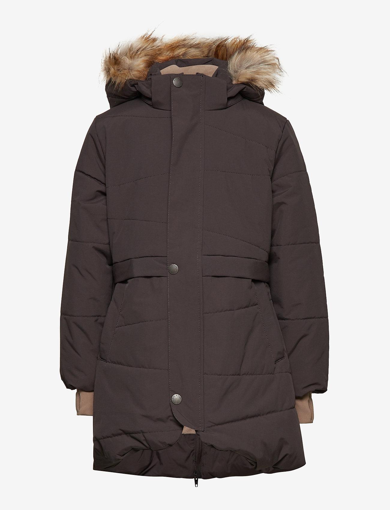 Mini A Ture - Witta Faux Fur Jacket, K - parkas - licorise - 1