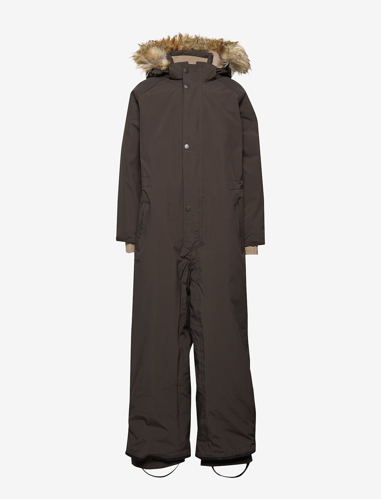 Mini A Ture - Wanni Faux Fur Snowsuit, K - vintertøj - licorise - 1