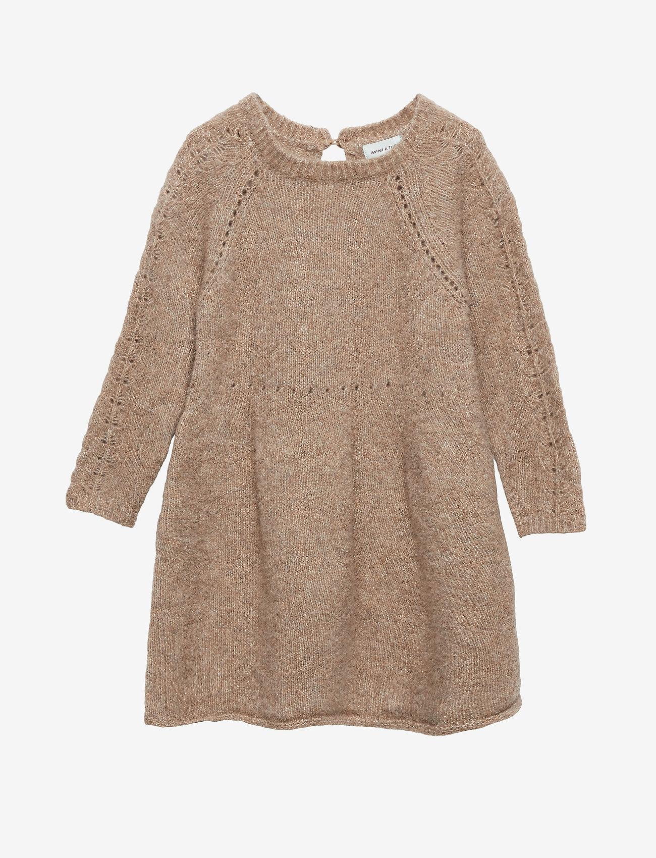 Mini A Ture - Roberta Dress, M - kjoler - apple cinnamon - 0