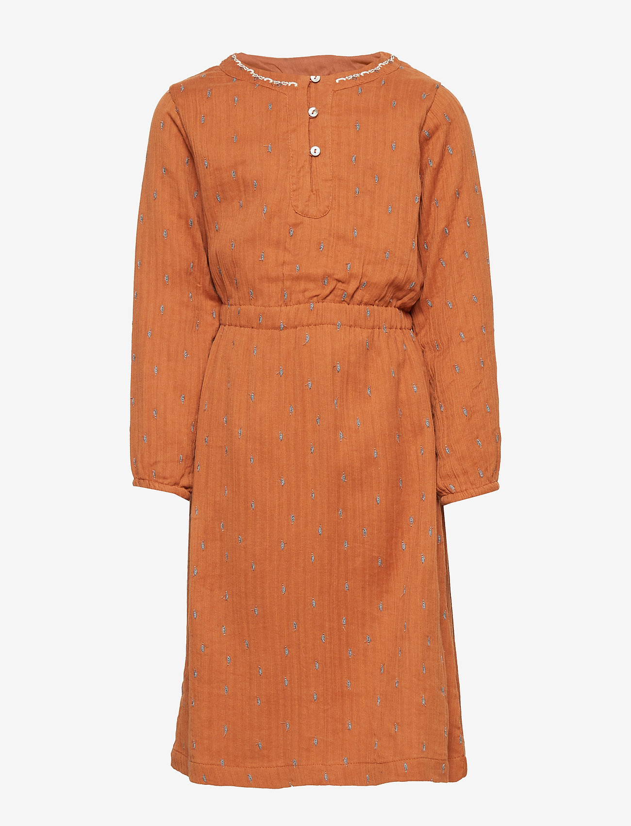 Mini A Ture - Sif Dress, K - jurken - leather brown - 0