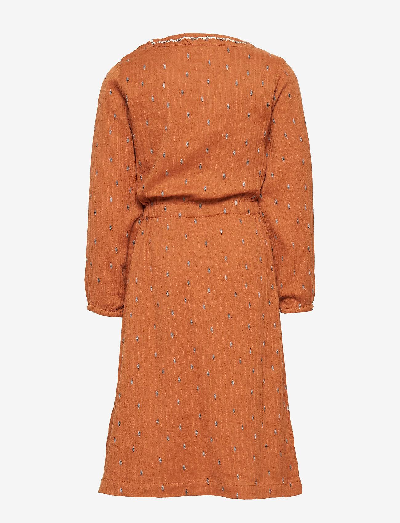 Mini A Ture - Sif Dress, K - jurken - leather brown - 1