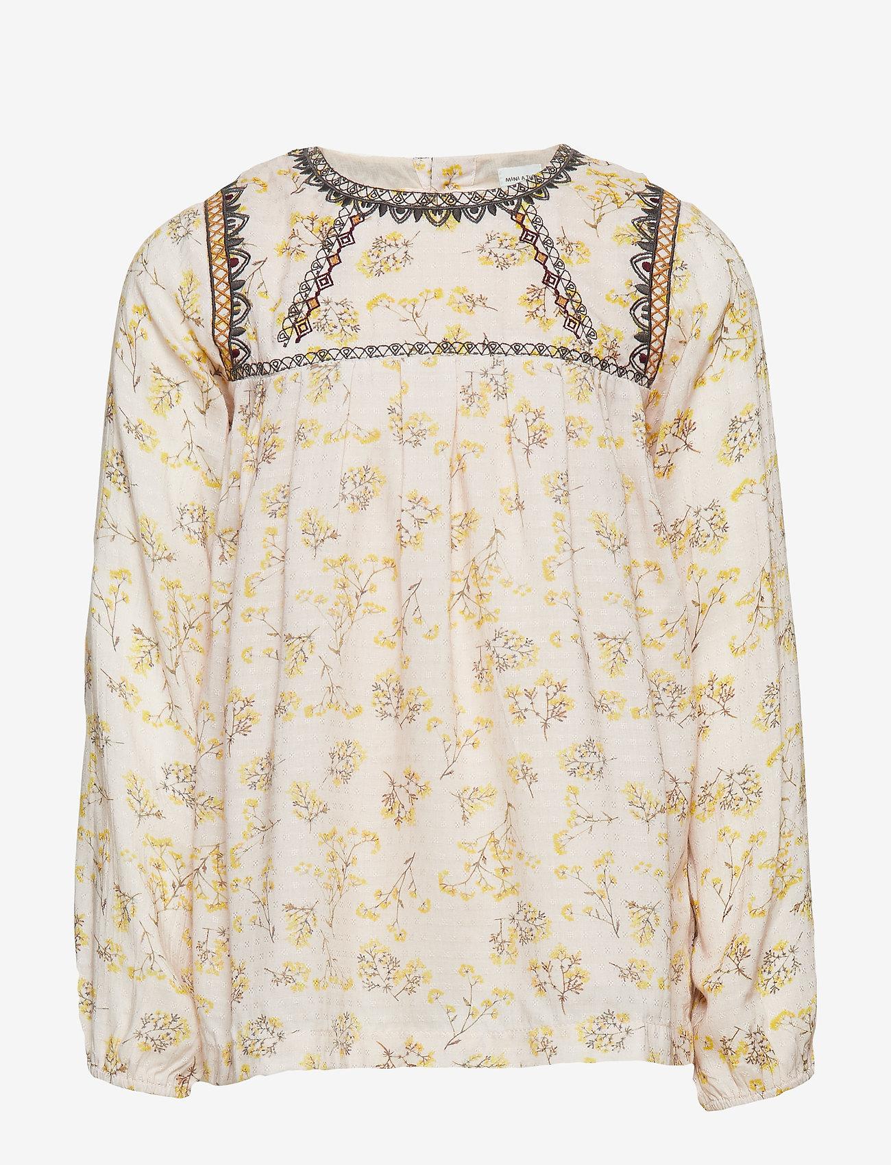 Mini A Ture - Asta Shirt, K - blouses & tunieken - silver peony - 0