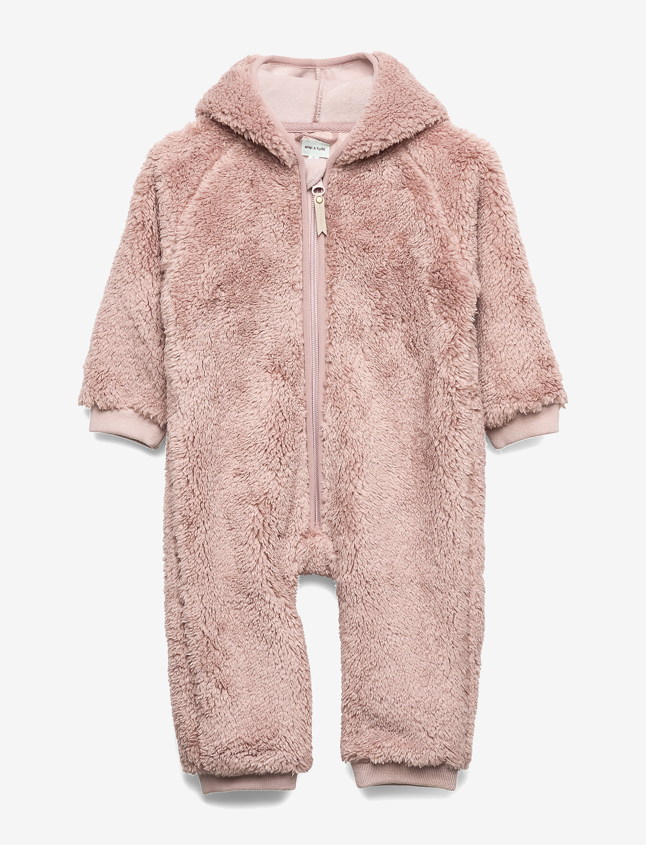 Mini A Ture - Adel Romper, B - fleeceklær - cloudy rose - 0