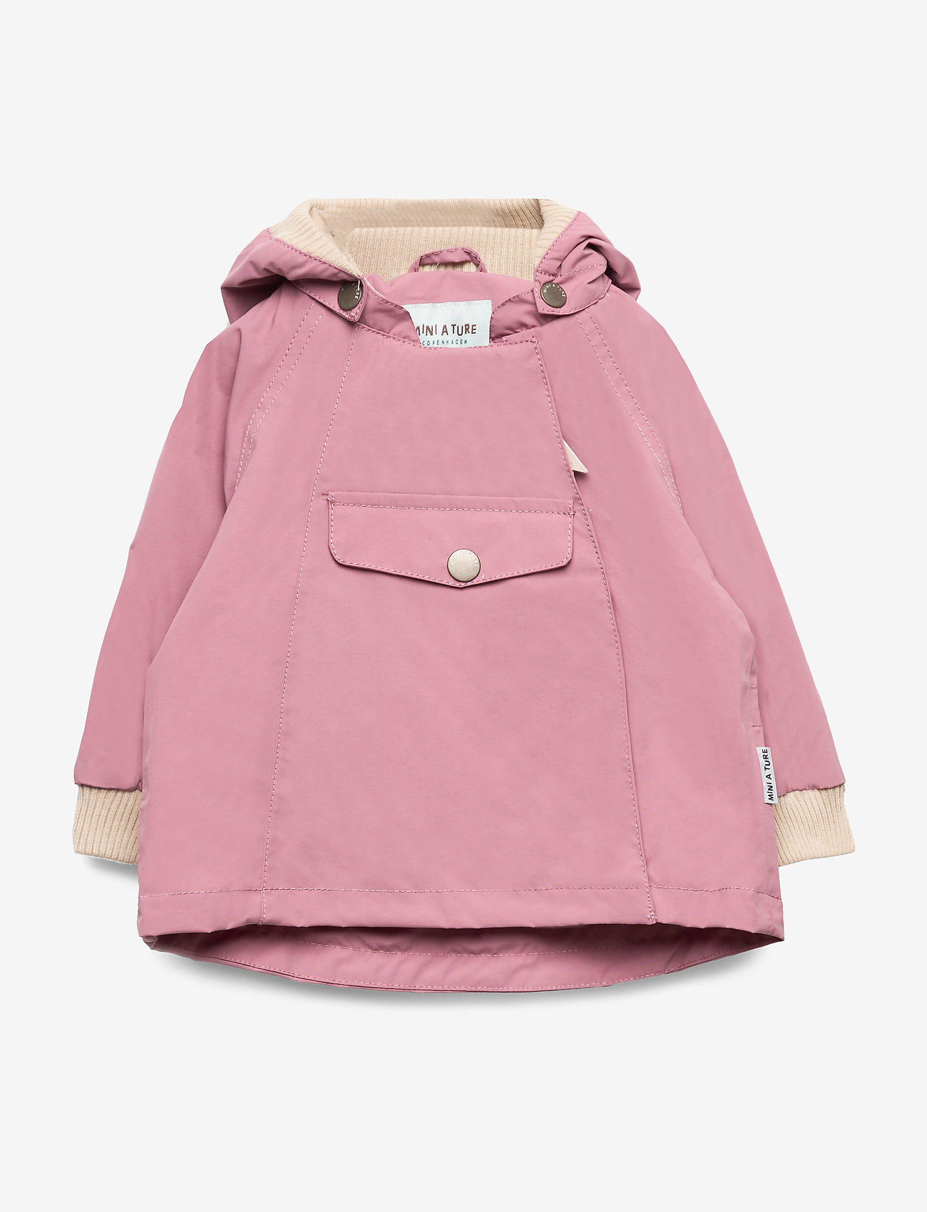 Mini A Ture - Wai Jacket, M - parkas - nostalgia rose - 0