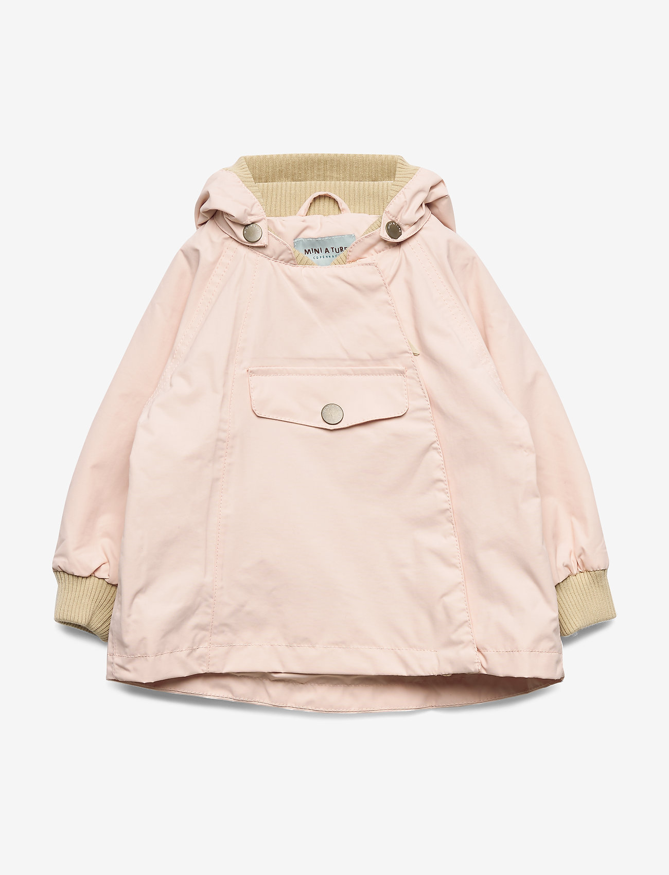 Mini A Ture - Wai Jacket, M - parkas - strawberry creme - 0