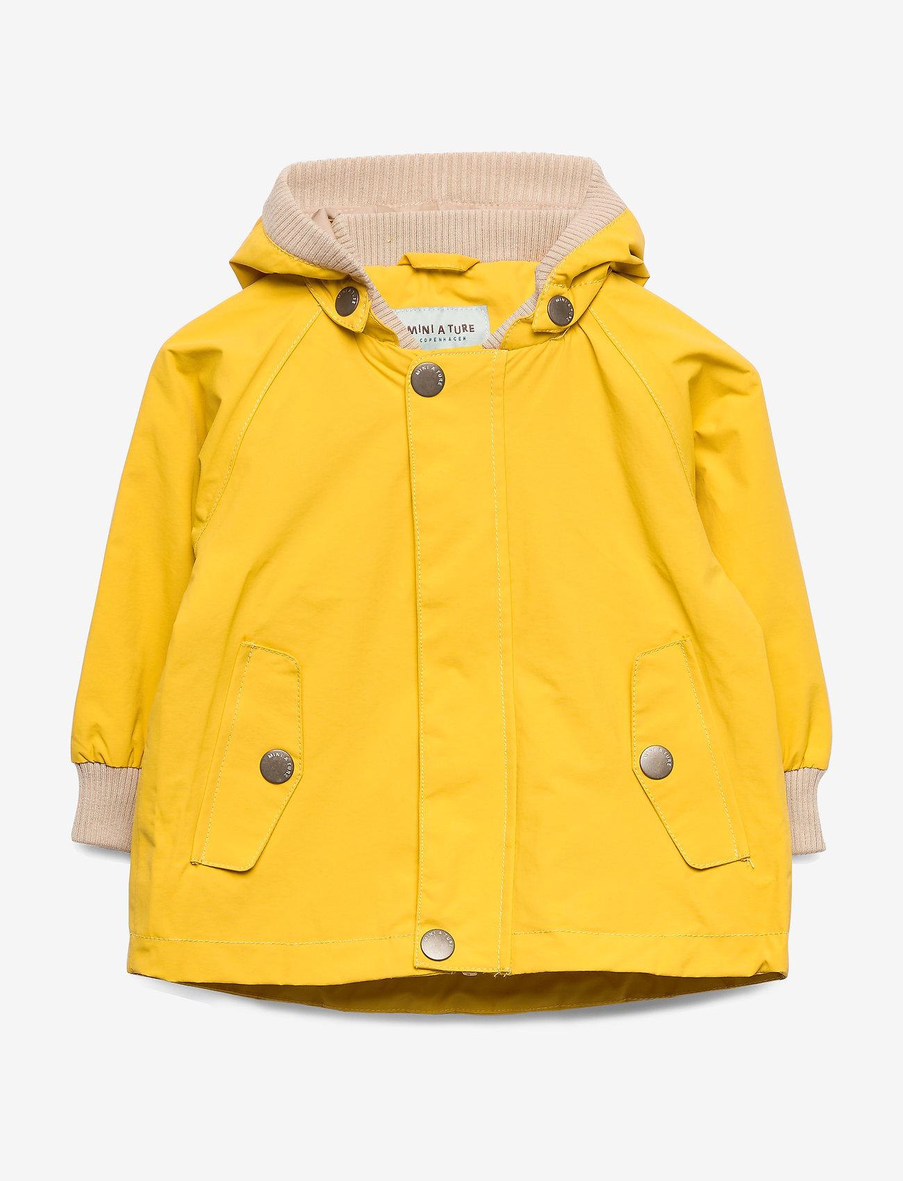 Mini A Ture - Wally Jacket, M - jassen - bamboo yellow - 0