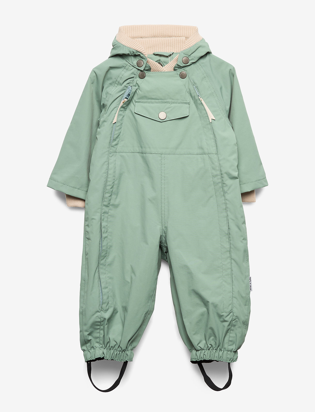 Mini A Ture - Wisto Suit, M - shell clothing - chinois green - 0