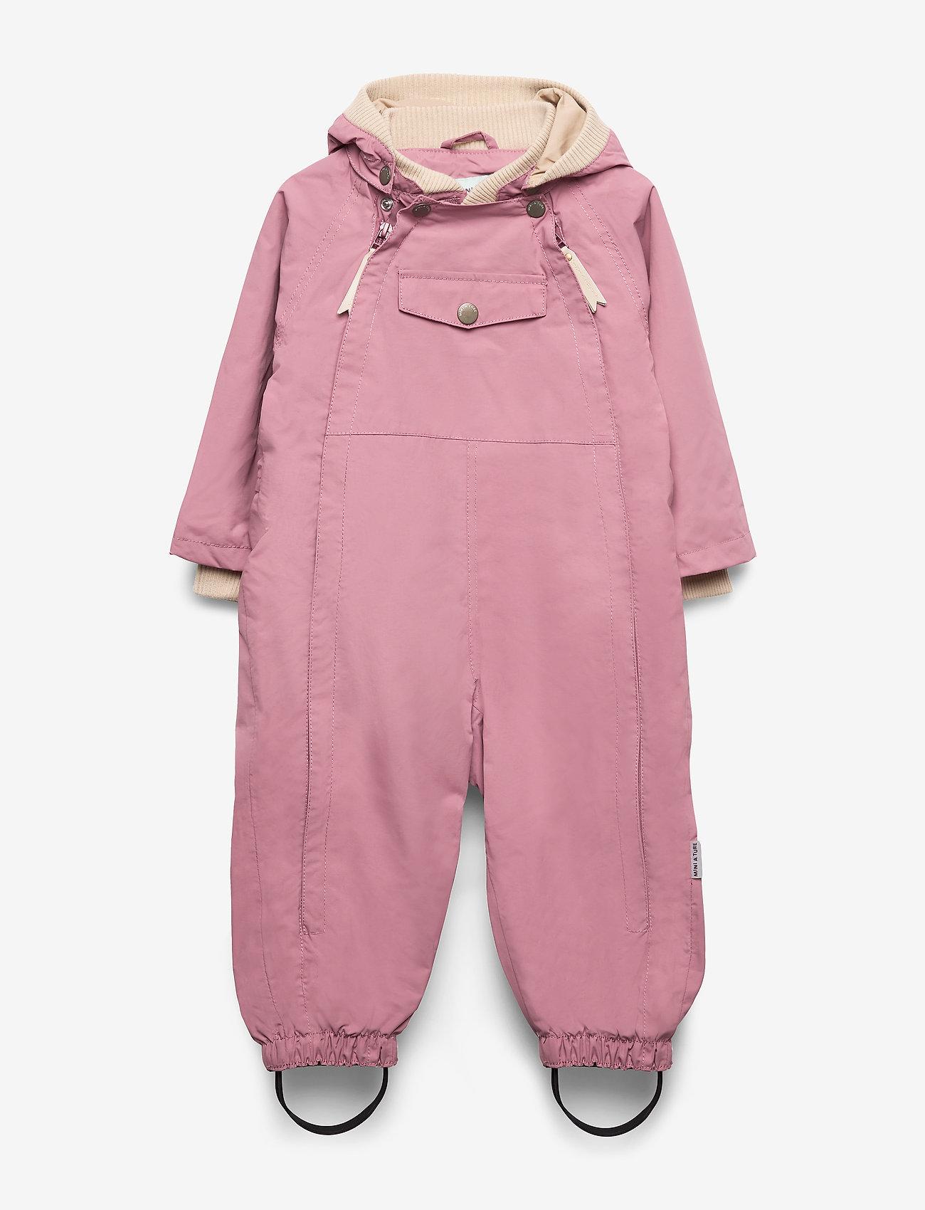 Mini A Ture - Wisto Suit, M - shell clothing - nostalgia rose - 0