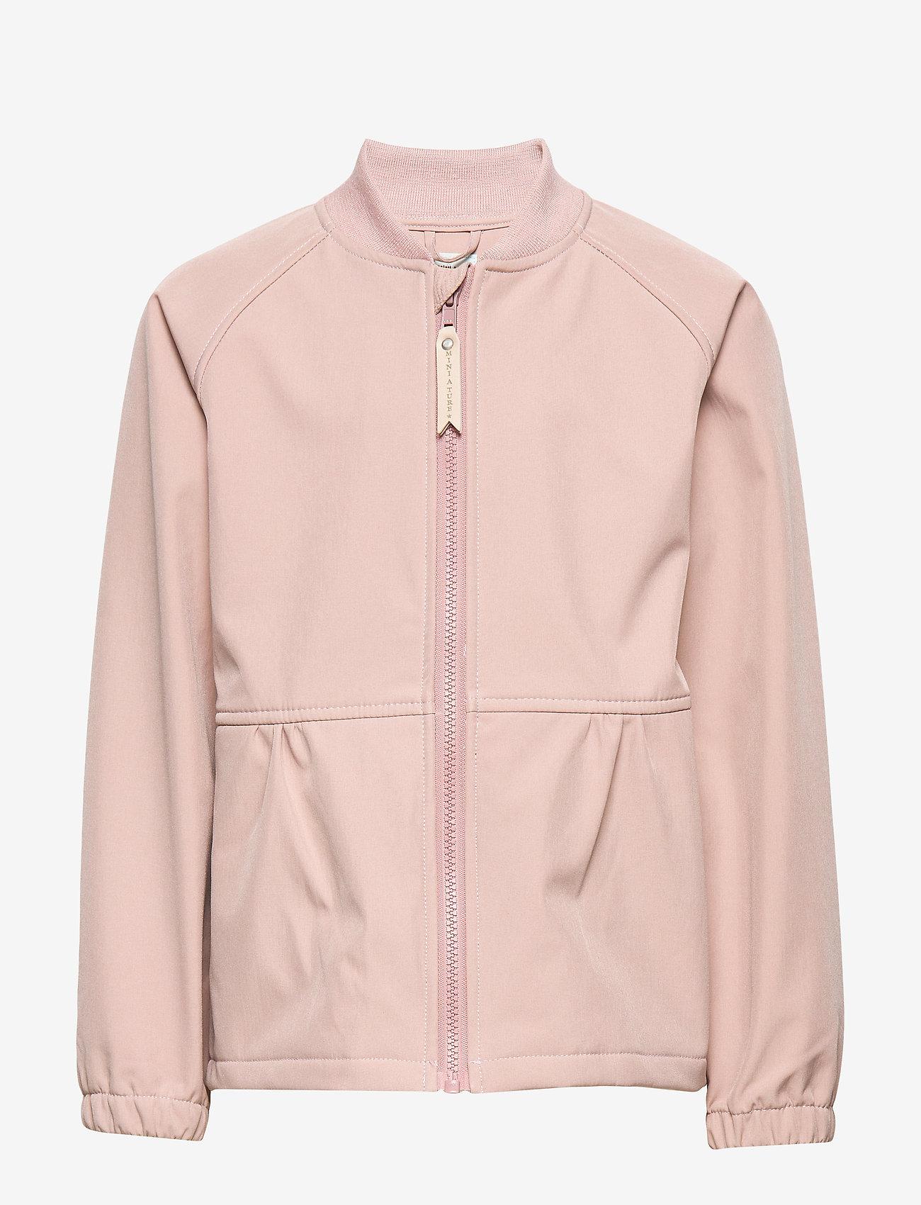 Mini A Ture - Bridget Jacket, MK - softshell jassen - muted lilac - 0