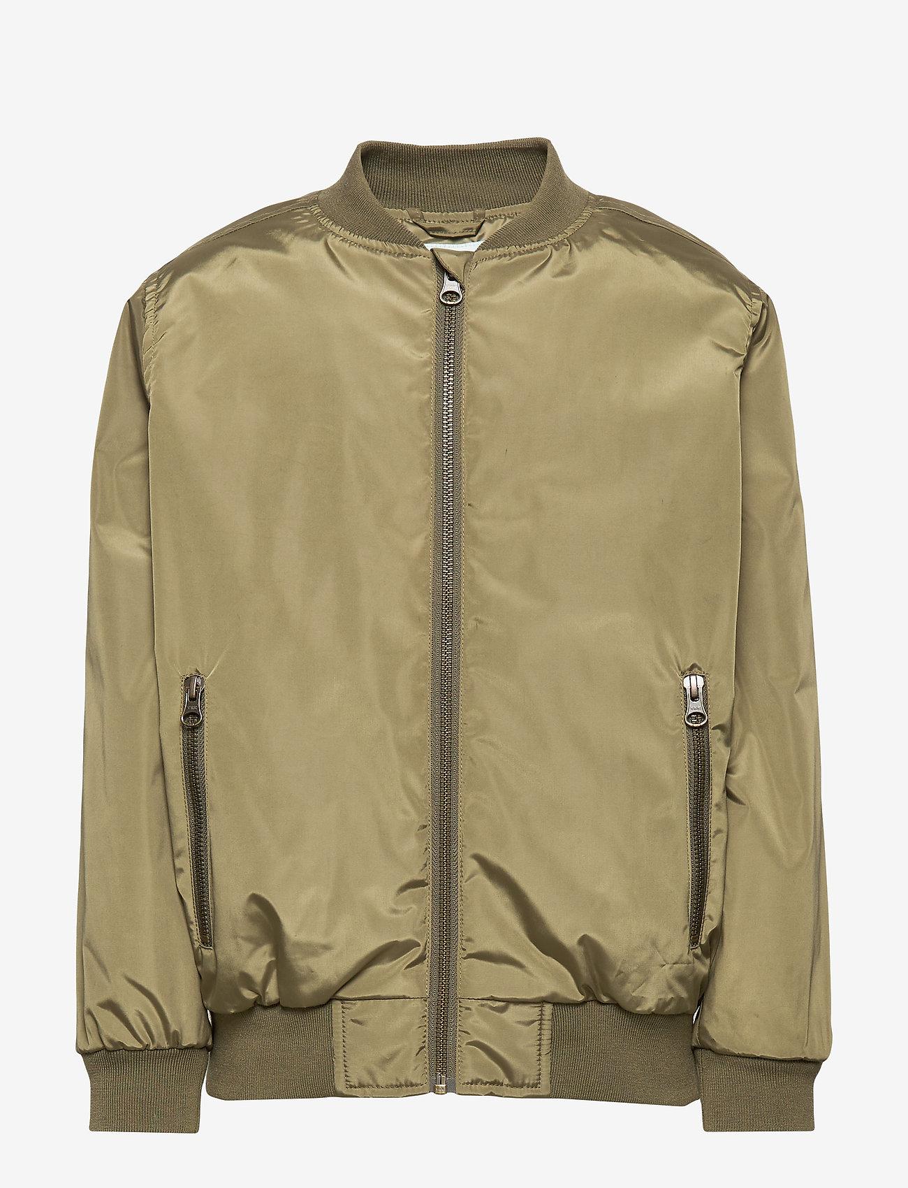 Mini A Ture - Július Jacket, K - bomber jackets - burnt olive - 0