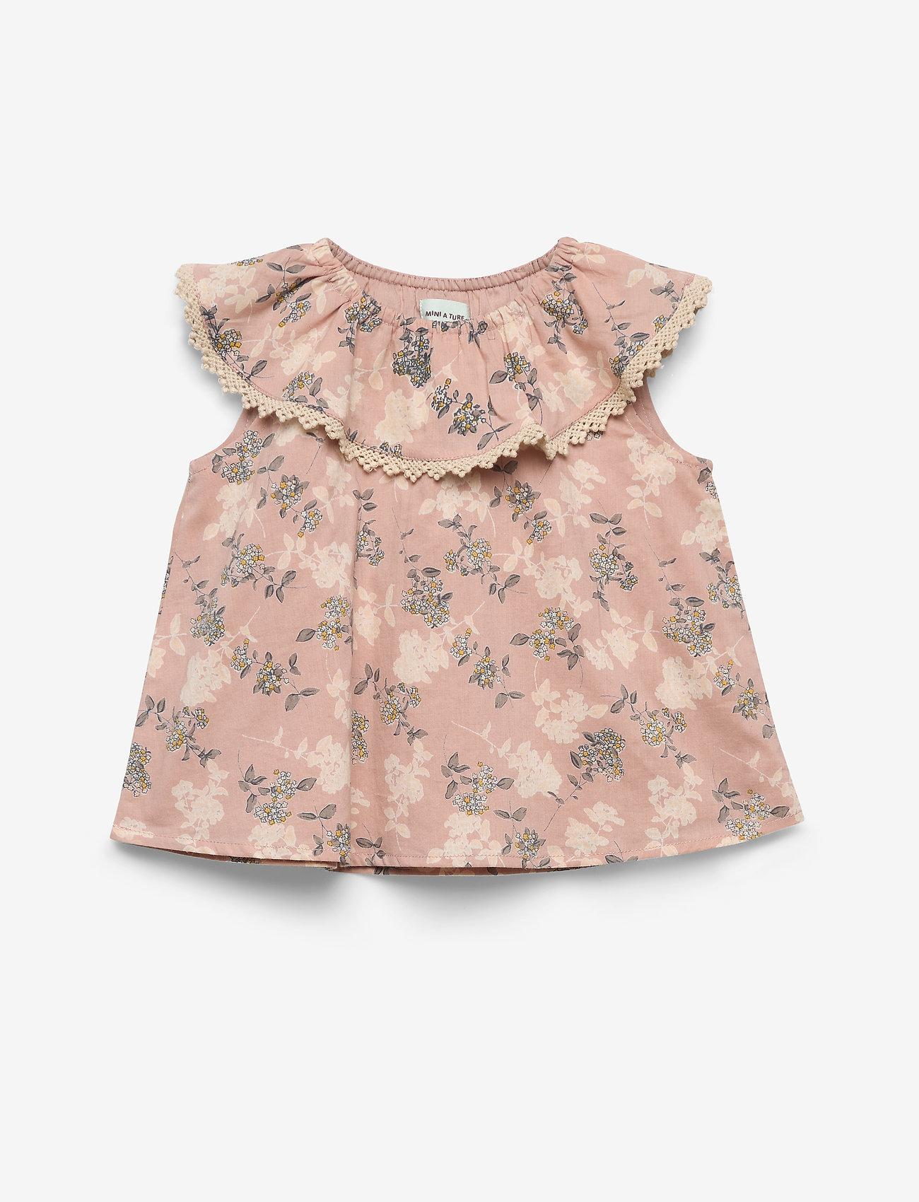 Mini A Ture - Nini Top, M - blouses & tunieken - cloudy rose - 0