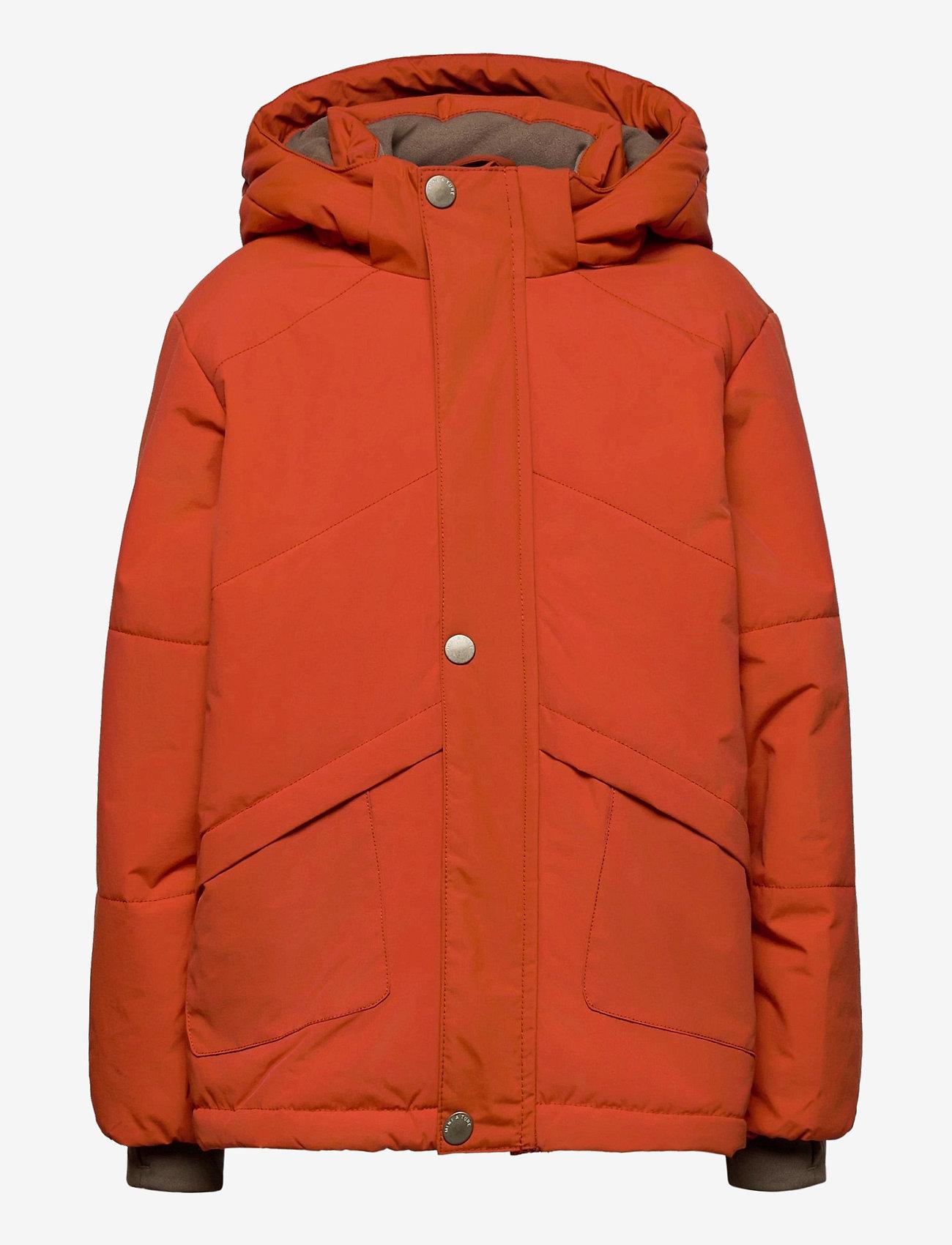 Mini A Ture - Weli Jacket, K - dunjakker & forede jakker - rooibos tea orange - 0